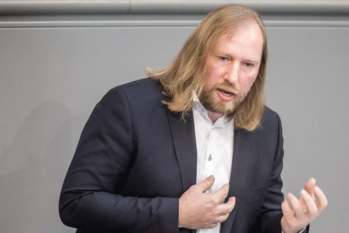 Im Netz beschimpft: Grünen-Chef Anton Hofreiter (48) wurde bei Facebook verunglimpft.