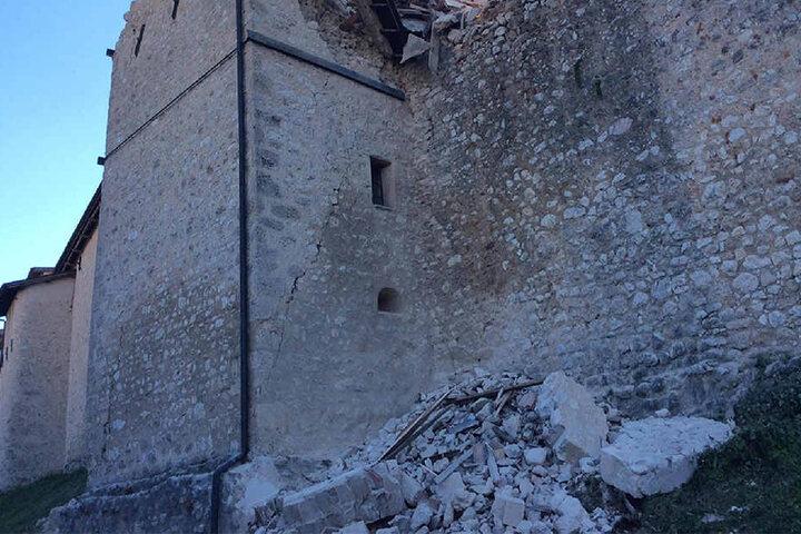 Wieder bebte die Erde, diesmal war es eines der stärksten Beben in Italien seit Jahrzehnten.