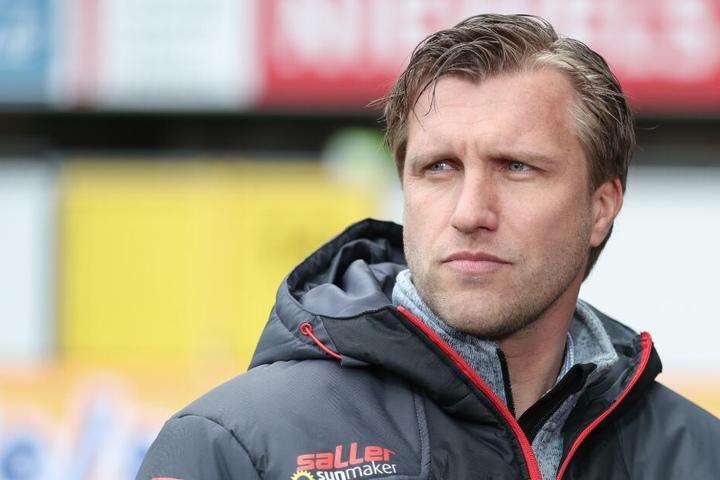 Markus Krösche wollte sich zu den Schalke-Gerüchten nicht äußern.