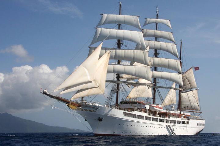 """Die """"Sea Cloud II"""" ist ein Schwesterschiff des Neubaus. (Archivbild)"""