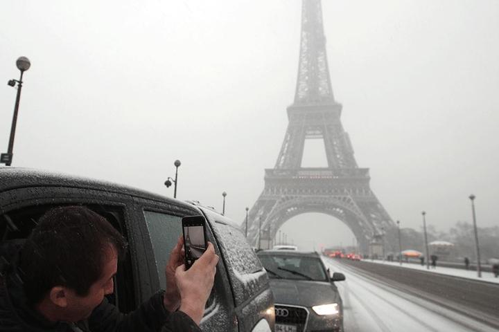 Der Eiffelturm ist geschlossen.