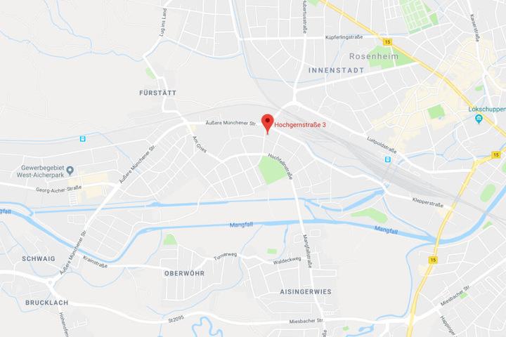 Der Zwischenfall in Rosenheim hatte sich in der Hochgernstraße bereits am Samstag ereignet.