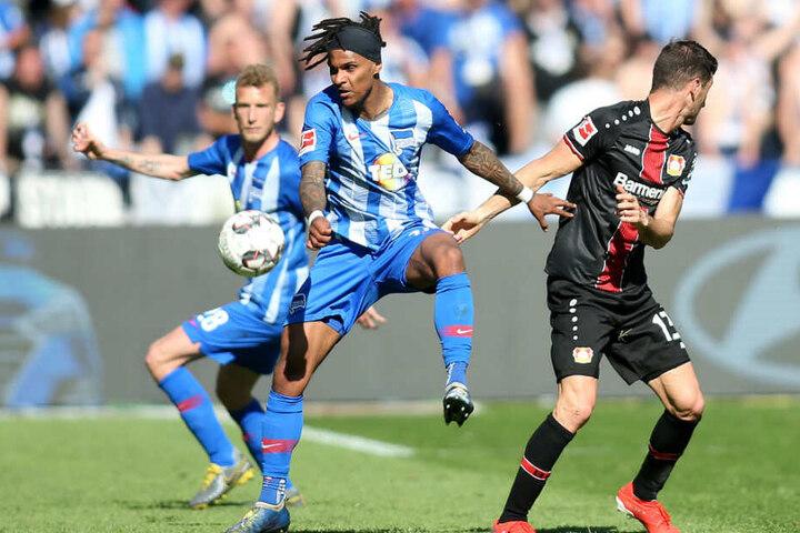 War das Spiel gegen Bayer Leverkusen Lazaros letzter Auftritt für Hertha?