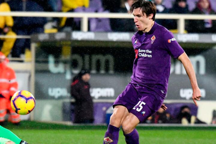 Federico Chiesa konnte in der aktuellen Spielzeit im Dress der Fiorentina durchaus überzeugen.