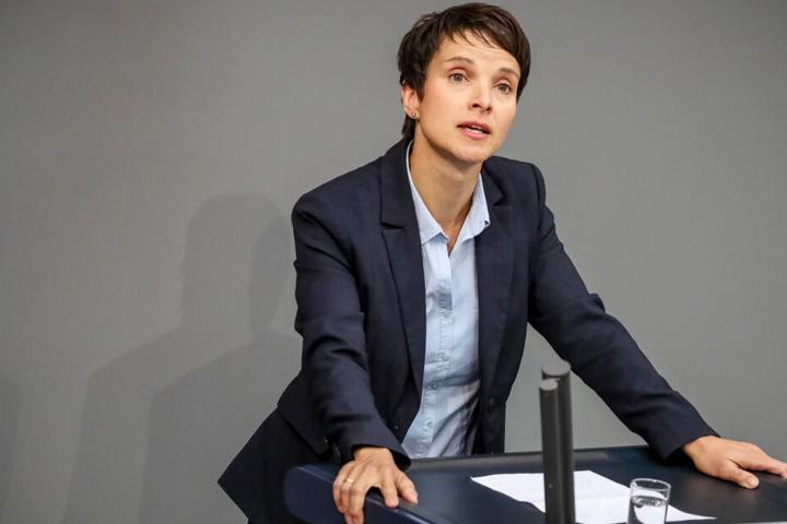 Frauke Petry und die AfD liefern sich einen erbitterten Markenstreit. (Archivbild)