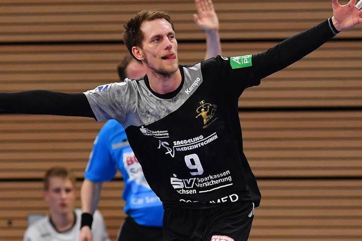 Bleibt beim HC Elbflorenz: Julius Dierberg.