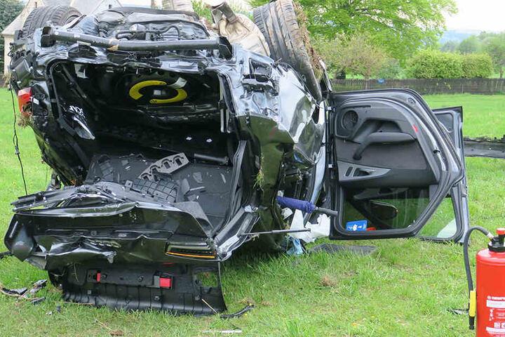 Drei Fahrzeuge waren in den Crash verwickelt.
