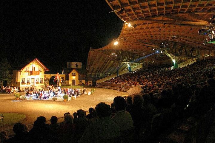 Die Freilichtspiele in Altusried ziehen die Menschen an. (Archivbild)
