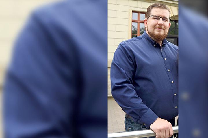 Sein Fall wird geprüft: Lehrer Tilman Matheja (36, AfD).
