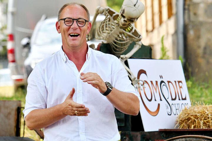 Freut sich wie Bolle auf die Open-Air-Saison: Comödien-Geschäftsführer Olaf Maatz.
