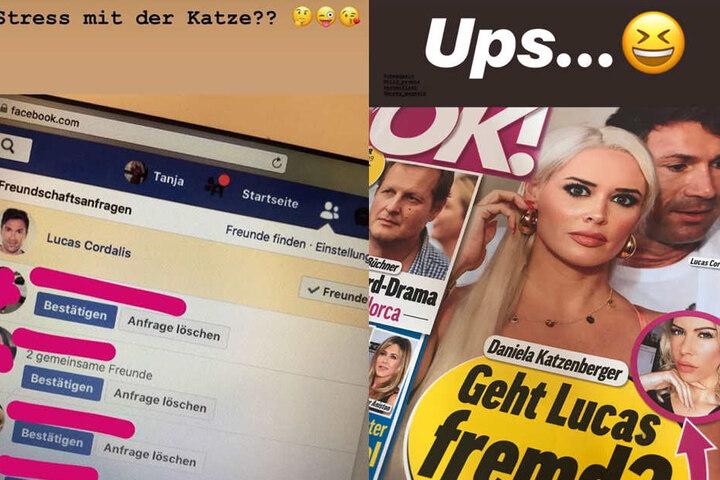 Die Instagram-Storys von Tanja Brockmann...