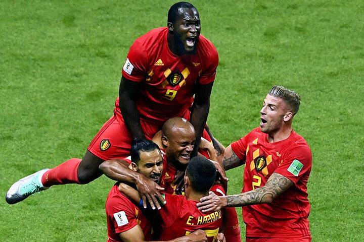 Riesenjubel: Belgien besiegt Brasilien und zieht erst zum zweiten Mal (nach 1986) in ein WM-Halbfinale ein!
