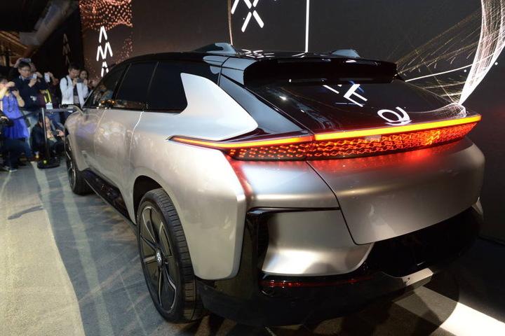 FF91 könne schneller von 0 auf 100 Stundenkilometer beschleunigen als jedes andere Auto weltweit.