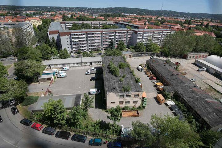 "Das alte ""Madix""-Firmenareal soll künftig bebaut werden"