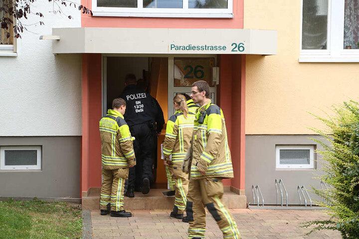 Auch die Anwohner in der Paradiesstraße werden evakuiert.