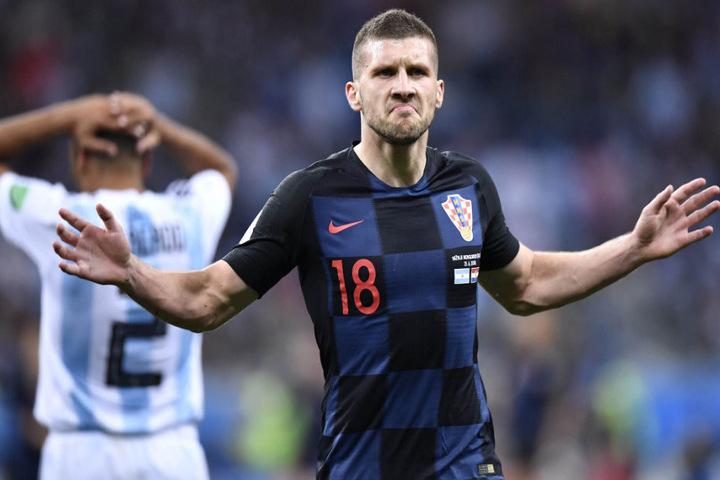 Ante Rebic und Kroatien konnten in der Gruppenphase der Fußball-WM in Russland Argentinien klar bezwingen.