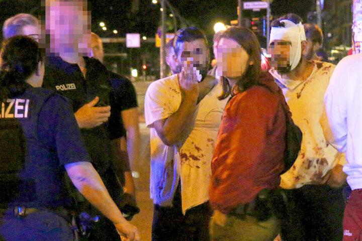 Zwei Tatverdächtige konnten nach einer zweiten Attacke festgenommen werden.