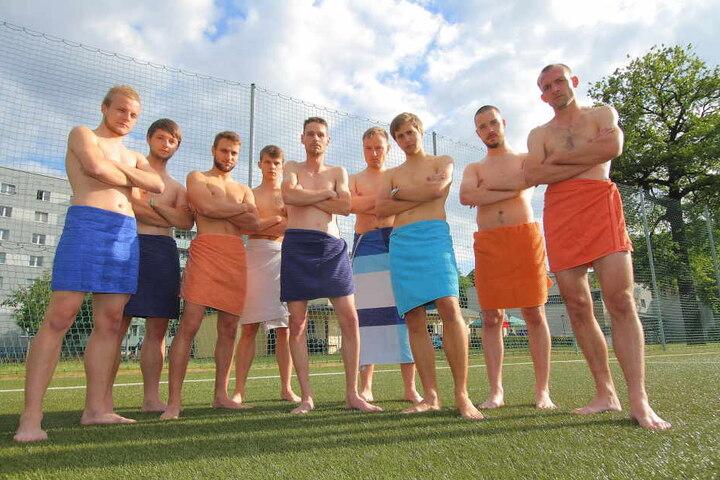 Einen Tag vorm Pokal-Finale der Kreisklasse standen die Männer vom SSV Turbine plötzlich ohne Klamotten da.