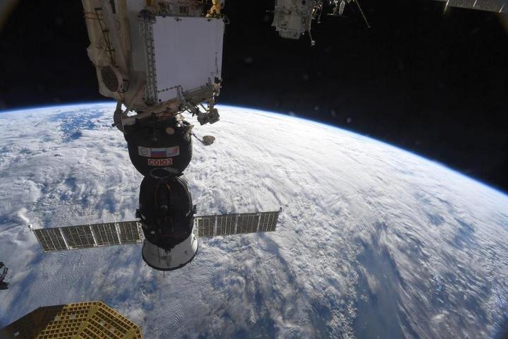 In dieser Sojus-Kapsel ist Alexander Gerst mit zwei weiteren Astronauten von der ISS zur Erde zurückgekehrt.