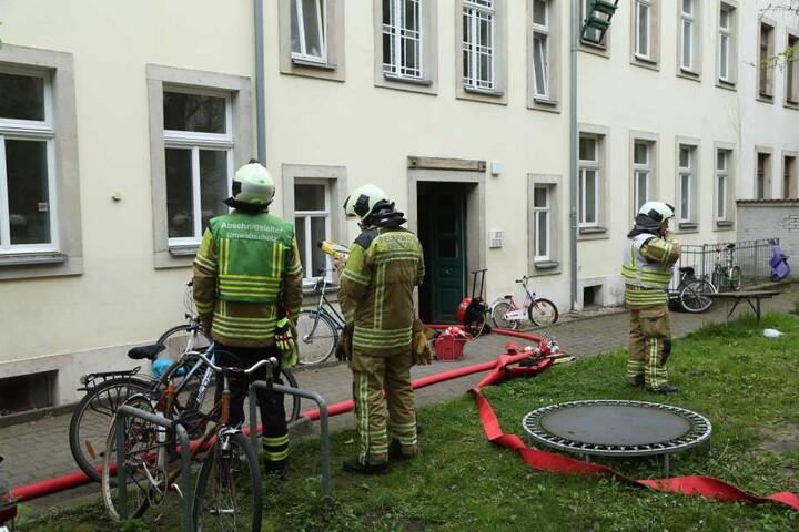 Die Feuerwehr war mit 36 Kameraden vor Ort.