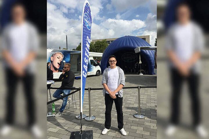 Bereits vor einem Jahr war der 20-Jährige beim Bielefelder DSDS-Casting am Start. Doch auch dieses Jahr reichte es nicht. Trotzdem hält Kevin an seinem Traum fest.