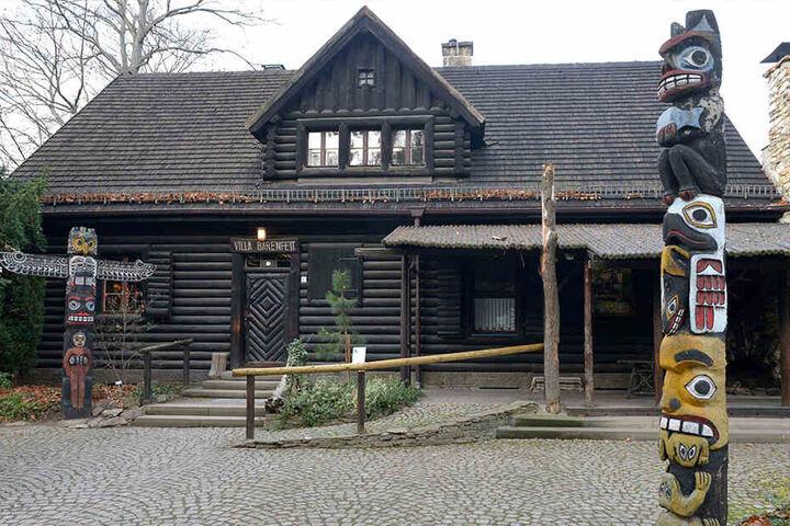 Das Radebeuler Karl-May-Museum ist 90 Jahre alt.
