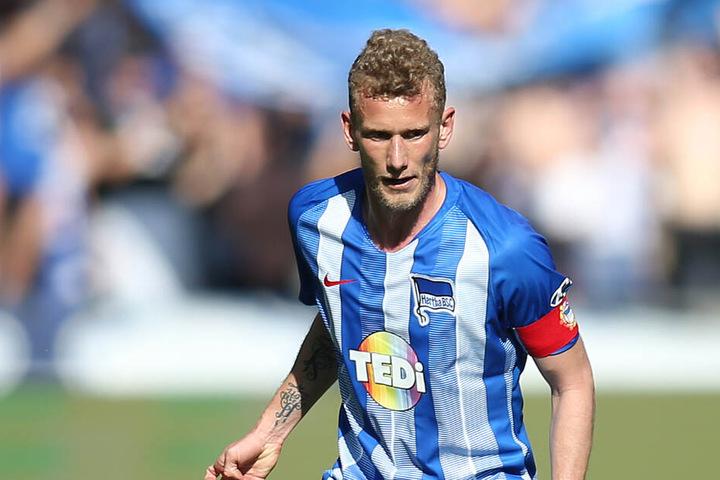 Erzielte sein wahrscheinlich letztes Tor für Hertha BSC: Fabian Lustenberger (Fußballgott).