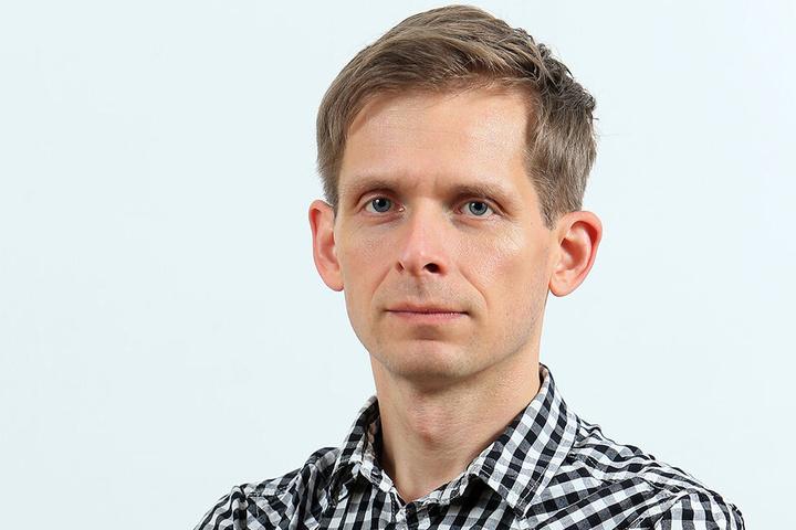 Stadtrat Maik Otto (41).