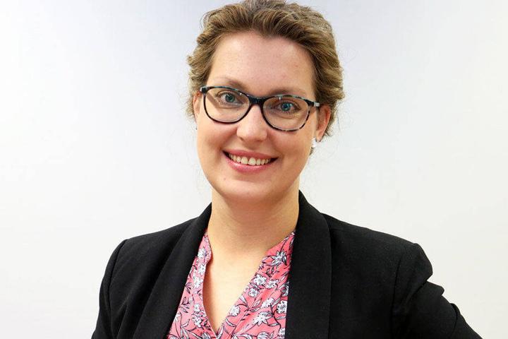 Vicky Loske (34), Sprecherin des Studentenwerks Chemnitz-Zwickau, will die Wünsche der Mensa-Gäste umsetzen.