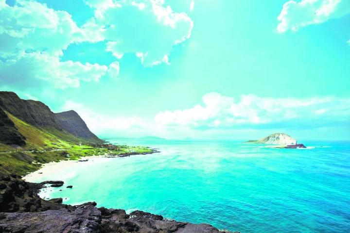 Nicht ganz ungefährlich: Für den angehenden Triathleten wartet das Urlaubsparadies Hawaii mit 40 Grad, hoher Luftfeuchtigkeit und Haien im Pazifik auf.