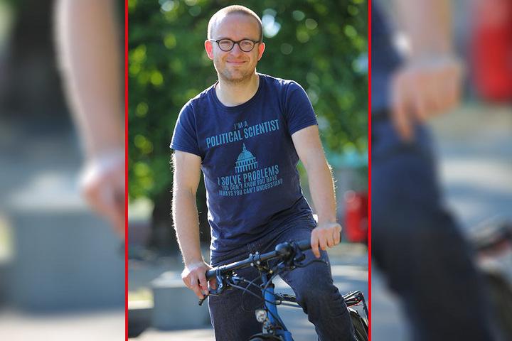 Unterstützt den FDP-Vorstoß: Konrad Krause (35), Sachsenchef des ADFC.