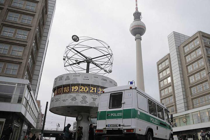 Eigentlich ein Ort der Freude: Der Alexanderplatz in Mitte.