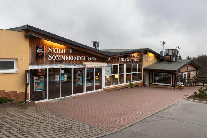 """Bislang drehte sich der Skilift von """"Rost's Wiesen"""" nur ein paar wenige Tage im Dezember 2019."""