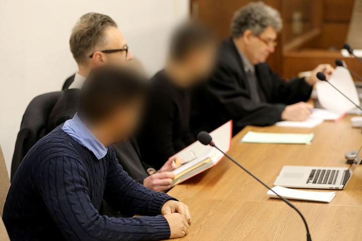 Die beiden Angeklagten mussten nach ihrem tödlichen Autorennen und einer Neuauflage des Prozesses doch ins Gefängnis (Bild aus Dezember 2017).