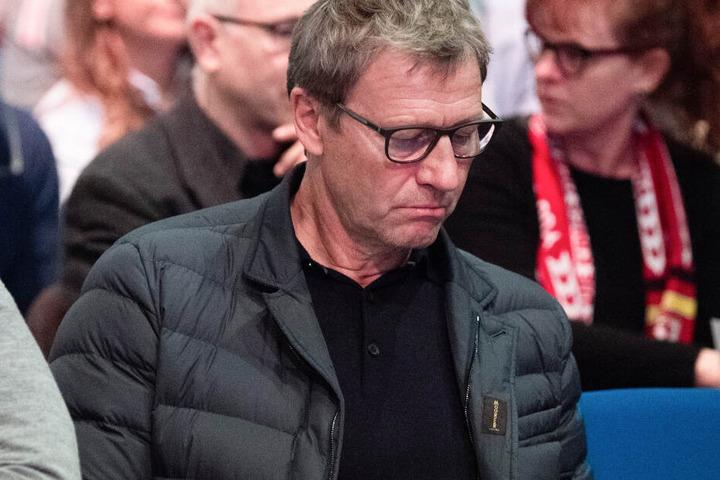 Guido Buchwald bei der außerordentlichen Mitgliederversammlung des VfB Stuttgart im Dezember 2019 in der Hanns-Martin-Schleyer-Halle.
