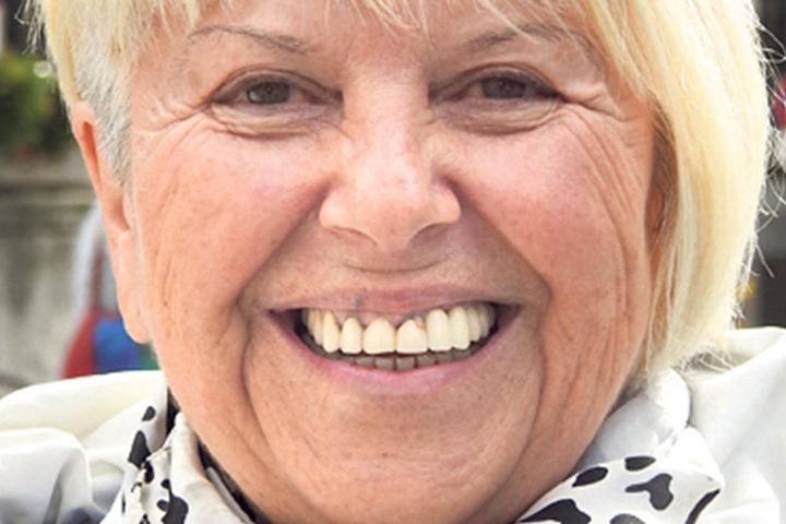 """Ruth Drechsler (71), Rentnerin aus Leipzig: """"Ich wähle CDU, weil die eine gute Politik macht. Den Leuten geht es doch gut. Und die, die klagen, jammern auf hohem Niveau."""""""