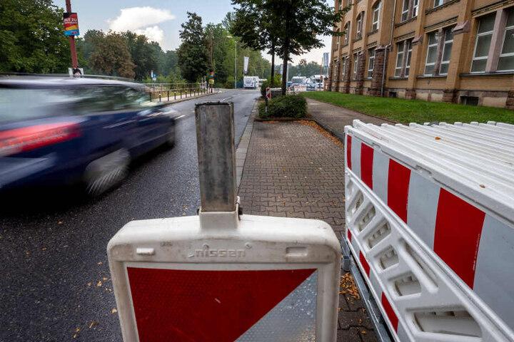 Anfang nächster Woche wird auch der Verkehr auf der Kauffahrtei zwischen Heinrich-Lorenz-Straße und Johann-Esche-Straße lahmgelegt.