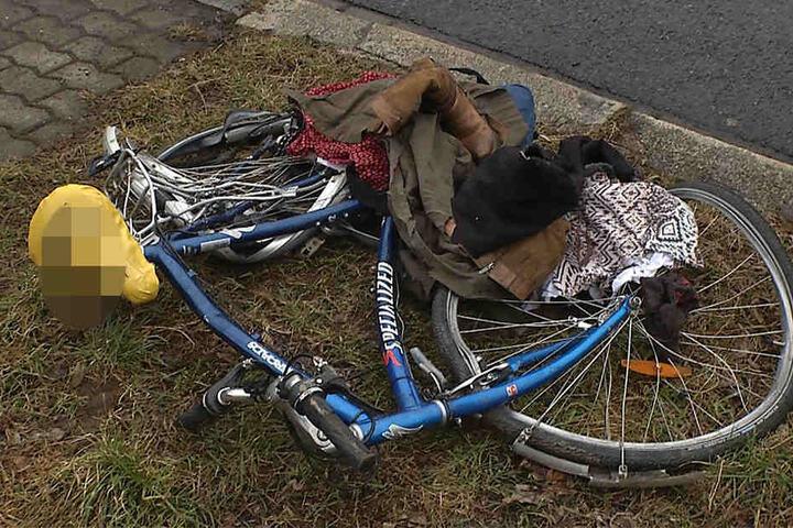 Die Radfahrerin wurde schwer verletzt in ein Krankenhaus eingeliefert.