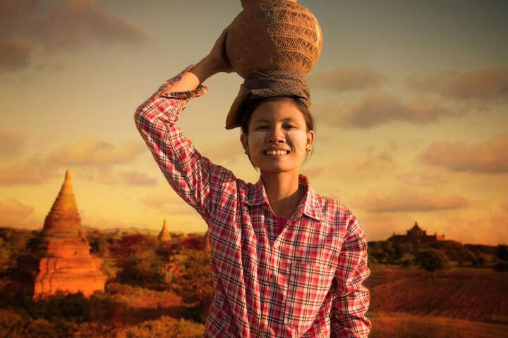In Myanmar leben mehr als 100 ethnische Volksgruppen. (Symbolbild)