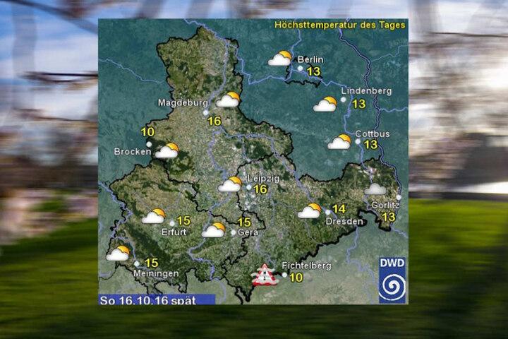 Das Wochenendwetter stimmt uns noch einmal milde bevor der Winter Einzug erhält.