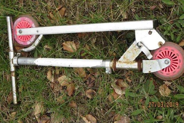 Wer vermisst diesen Roller?