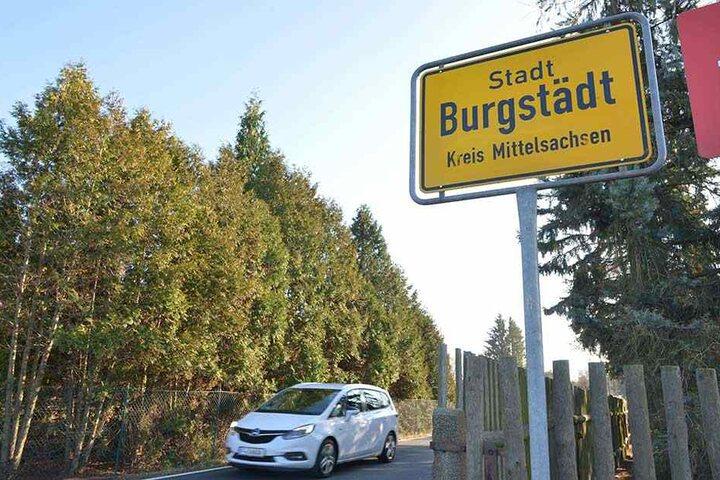Burgstädt ist die Blitzer-Hauptstadt Sachsens.