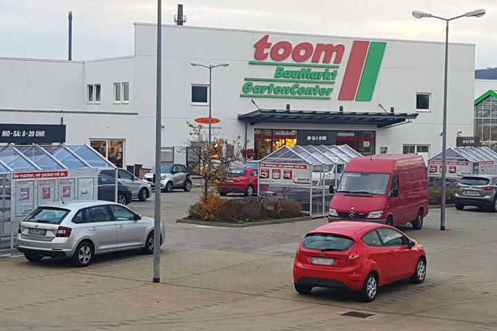 Der toom-Baumarkt in Freital Döhlen.