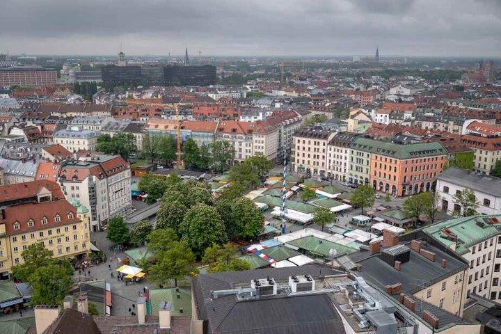 Die Feinkostkette Schlemmermeyer hatte ihr ursprüngliches Stammhaus auf dem Viktualienmarkt in München.