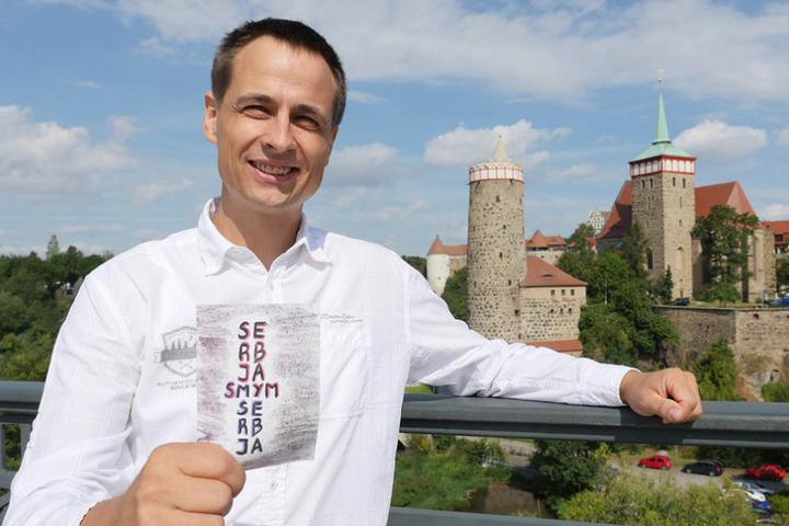 Martin Schneider (41) ist Anführer der Bewegung für ein Sorben-Parlament.