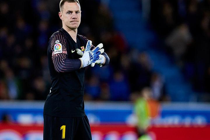 In Barcelona die klare Nummer eins, in der Nationalmannschaft nur Ersatz: Marc-Andre ter Stegen.