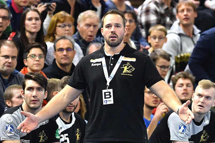 Aus, vorbei! Seit Sommer 2016 war Christian Pöhler Trainer des HC Elbflorenz. Am Mittwoch wurde er vom Vorstand gefeuert.