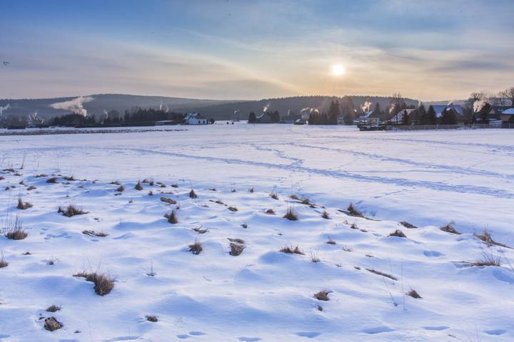 In Marienberg/Kühnhaide wurden am Mittwochmorgen minus 27,7 °C gemessen, damit war es der kälteste Ort in Deutschland.