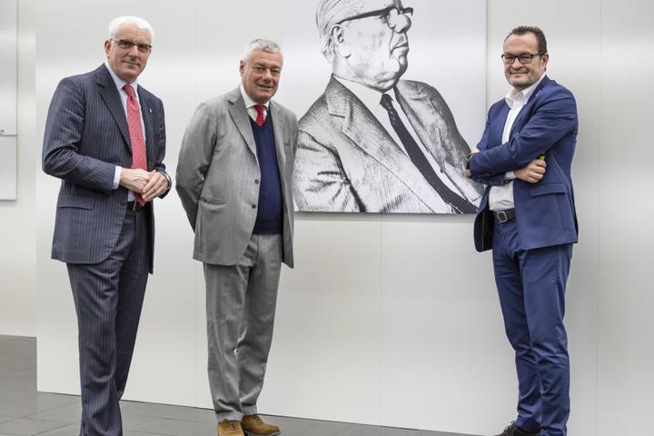 Silvio Pietro Angori, Paolo Pininfarina, Michael Perschke
