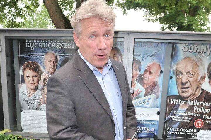 """Der Ex-""""Tatort""""-Kommissar Jörg Schüttauf (54) wird die Sprechpassagen im  """"König David"""" übernehmen."""